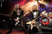 The Dead Daisies - The Robin, Bilston - 9th April 2018